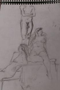 Draw-a-Thon Sketch by Conway Boyce